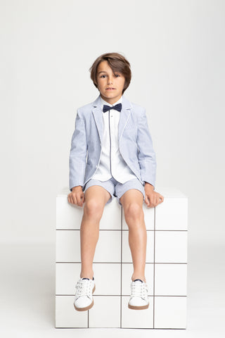 Boys Shorts Blazer Communion