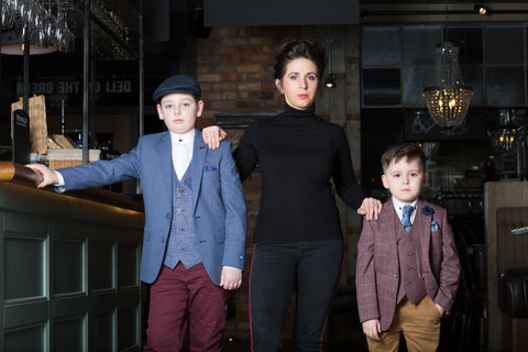 DIGG Childrenswear Peaky Blinders Photoshoot