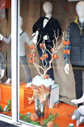 Digg Childrenswear Autumn Window Display