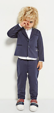 Guess Boys Navy Suit