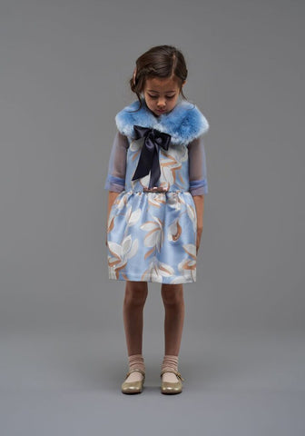 Hucklebones faux Fur Collar for girls