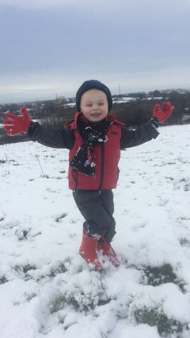 Pearse Digg Childrenswear In The Snow
