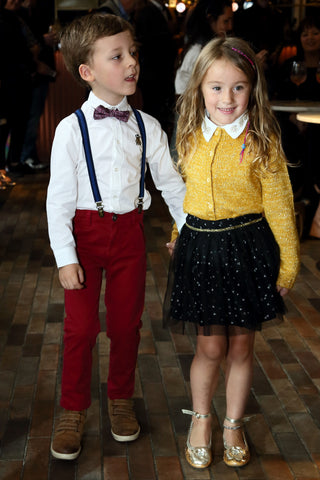 Theo and Valentina in DIGG Childrenswear
