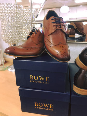 tommy bowe tan brogue