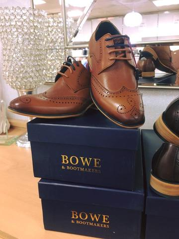 Tommy Bowe Kids Brogues