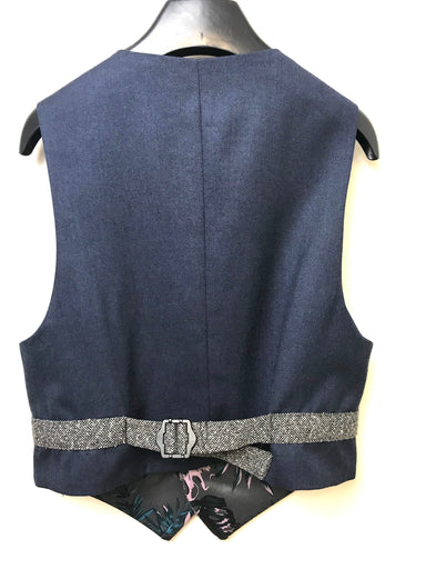 1880 Club Tweed Boys Confirmation Communion Waistcoat