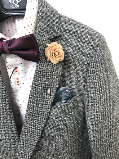 1880 Club Boys Communion  Grey Tweed Blazer