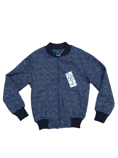 1880 Club Navy Bomber Jacket