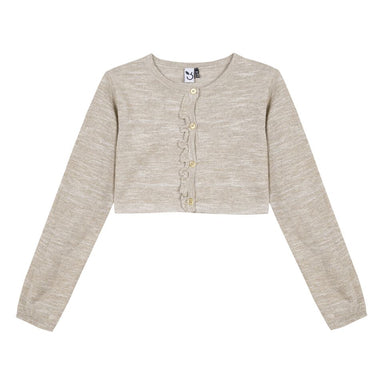 3 Pommes Baby Girls Gold Sparkly Cardigan