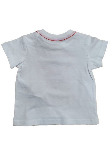Guess Baby Boys White T-Shirt