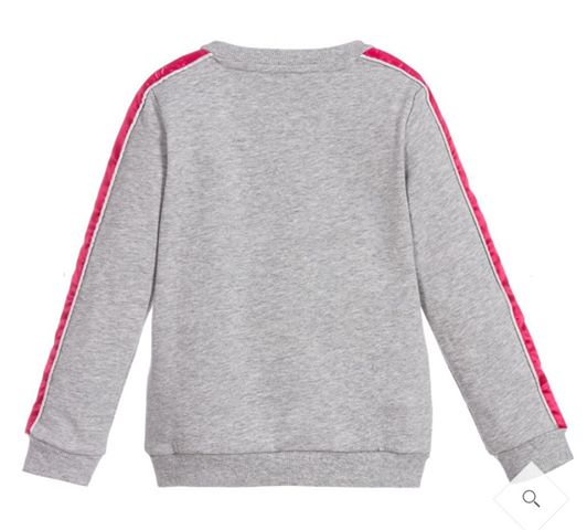 Guess Girls Grey Sweatshirt