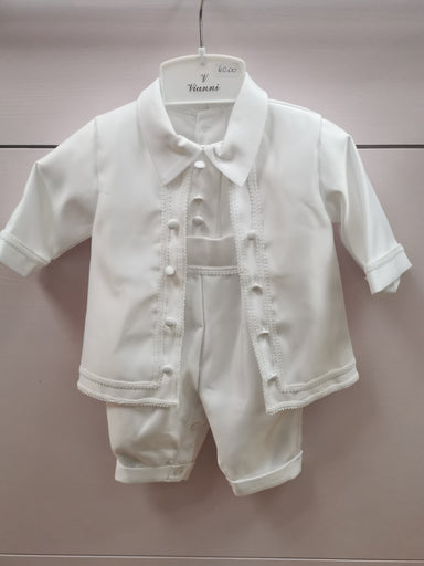 Vianni Baby Boys All In One Christening Suit
