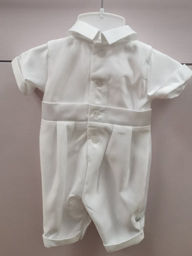 Vianni Baby Boys All In One Christening Suit Back