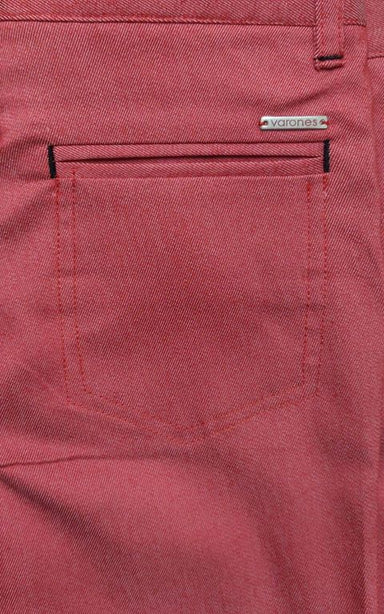 Boys One Varone Pale Red Smart Chino