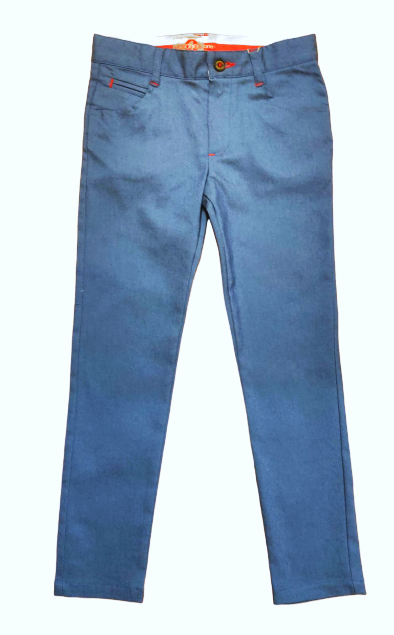 Boys One Varone Blue Smart Chino