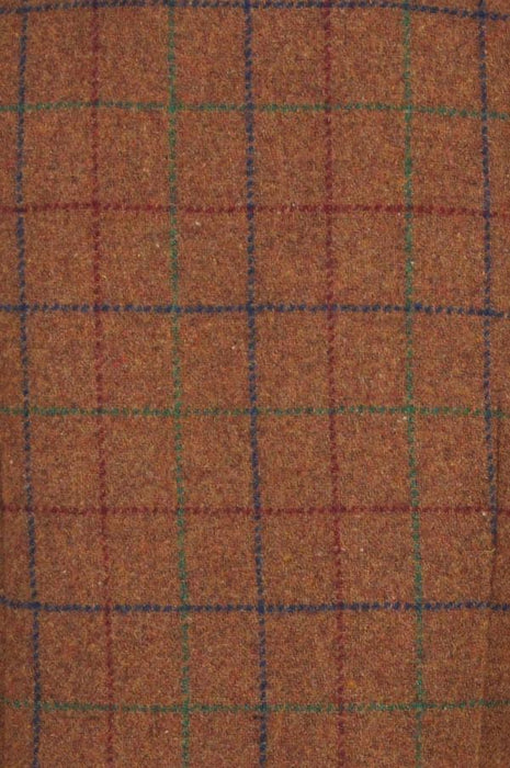 Little Lord Brown Checked Waistcoat
