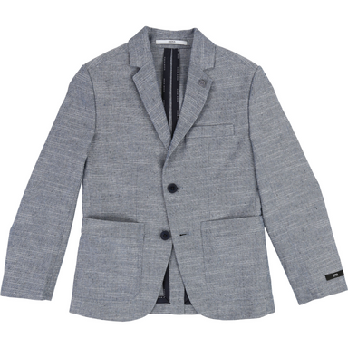 Boss Boys Grey Suit Jacket