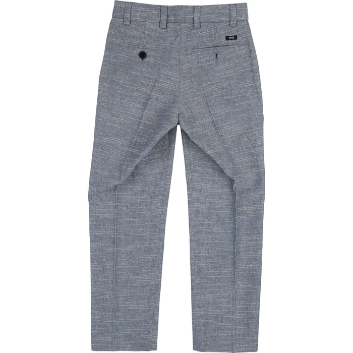 Boss Boys Grey Suit Pants