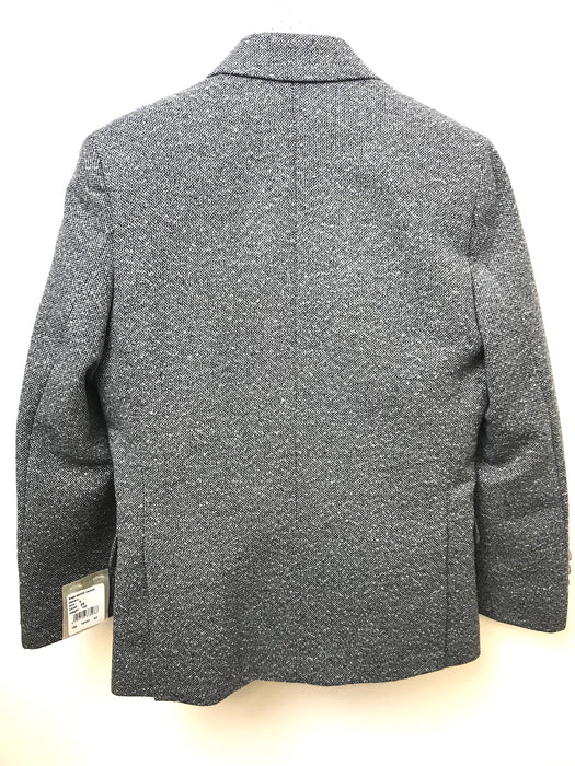 1880 Club Boys Grey Tweed Blazer Wedding