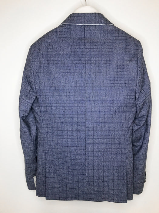 1880 Club Boys Blue Check Blazer
