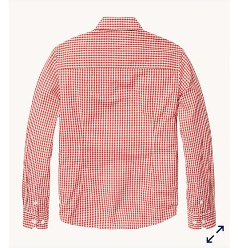 Tommy Hilfiger Boys Red Gingham Shirt