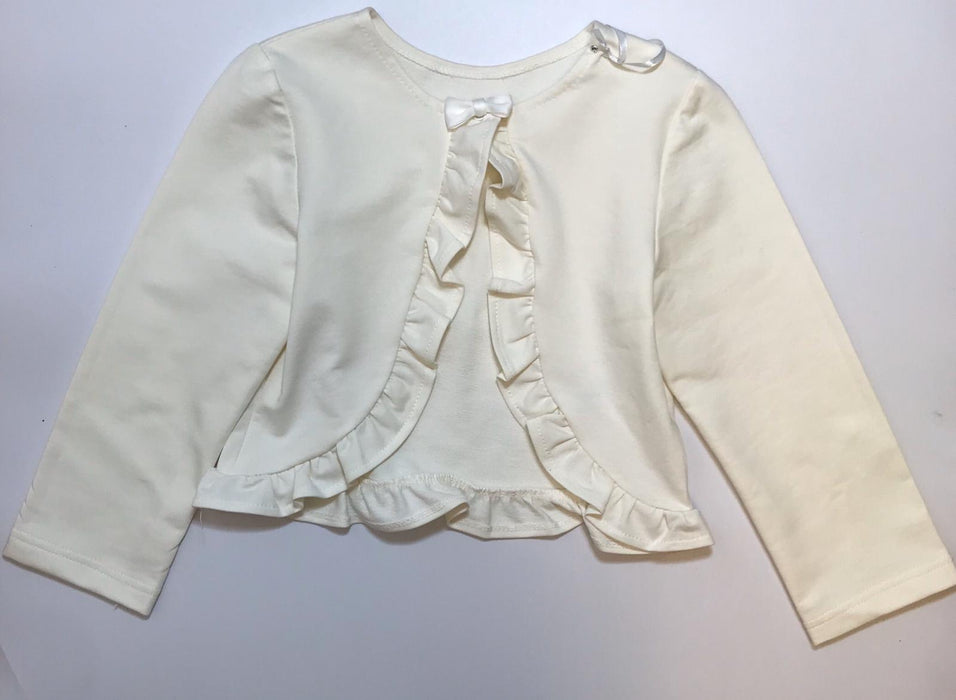 Daga Girls Cream Bolero Cardigan