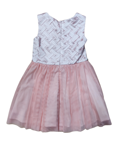 Guess Girls Pink Pearl Detail Dress