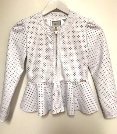 Guess Girls Faux Leather Jacket