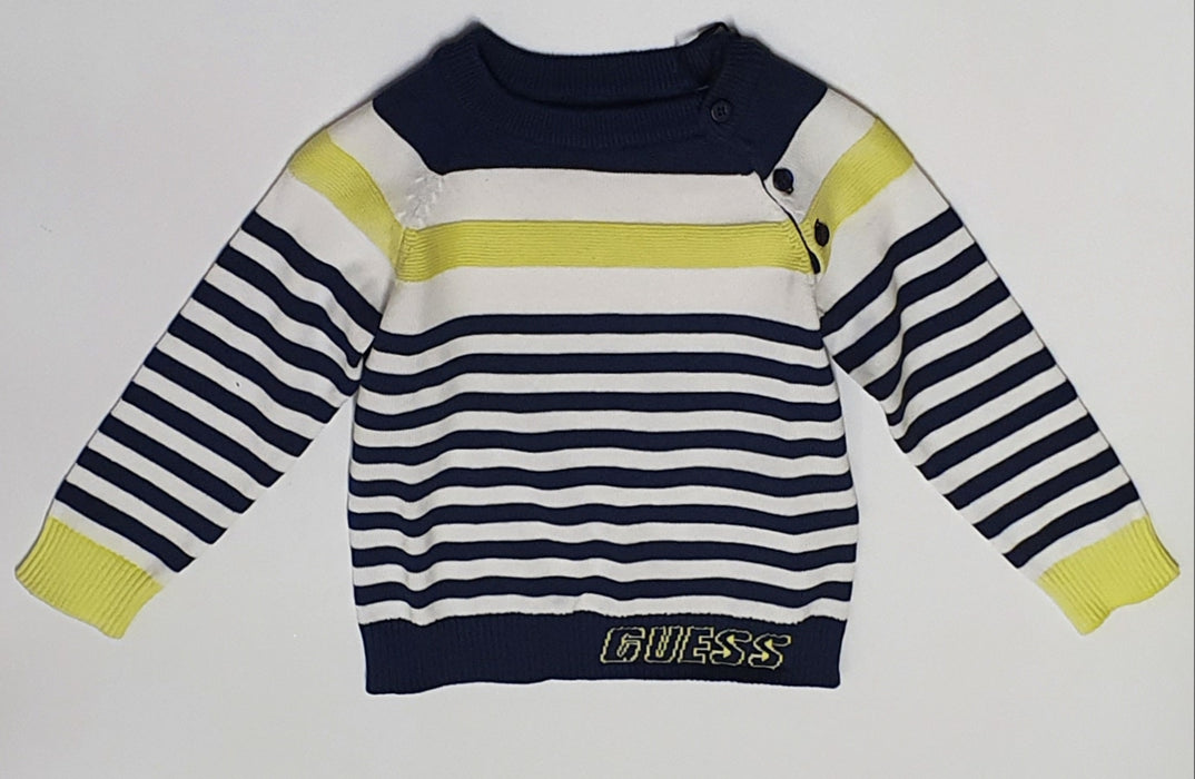 Guess Baby Boy Striped Jumper