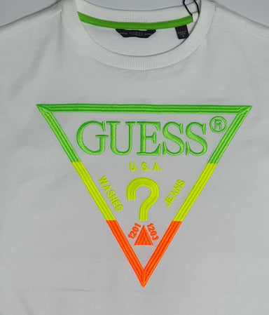 Guess Boys White Logo Top