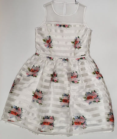 Guess White Floral Dress
