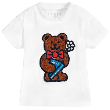 Guess Baby Boys Teddy Embroidered Top