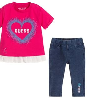Guess Baby Girl Soft 2 Piece Set