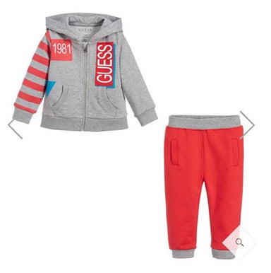 Guess Baby Boy Cotton Tracksuit