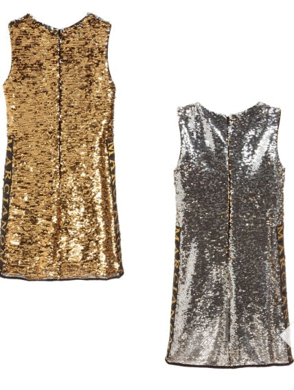 Guess Marciano Girls Reversible Sequin Dress