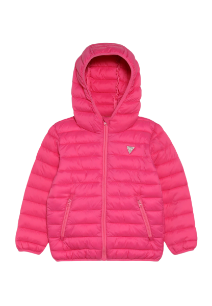 Guess Girls Pink Padded Coat