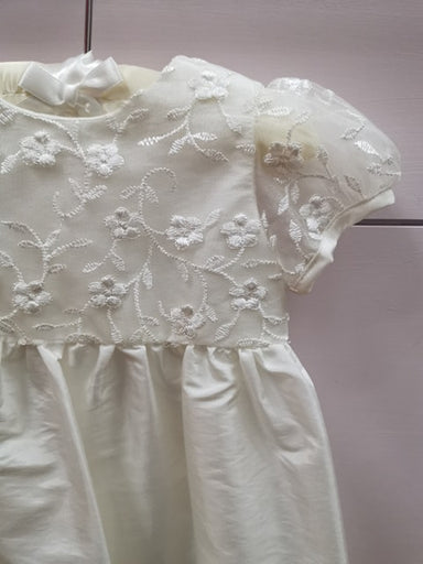 Girls Nessa Heritage Cream Christening Gown Detail