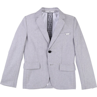 Hugo Boss Boys Grey Blazer