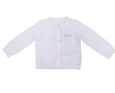 Guess Baby Girl Pink Cardigan