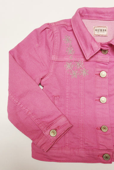 Girls-pink-denim-jacket