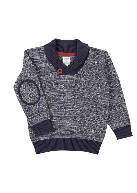 Losan Boys Grey Knitted Jumper