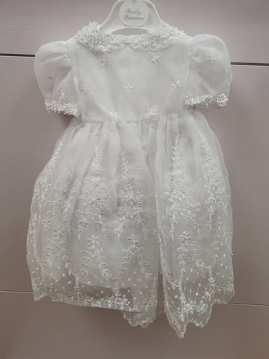 Pretty Princess White 3 in 1 Christening Dress