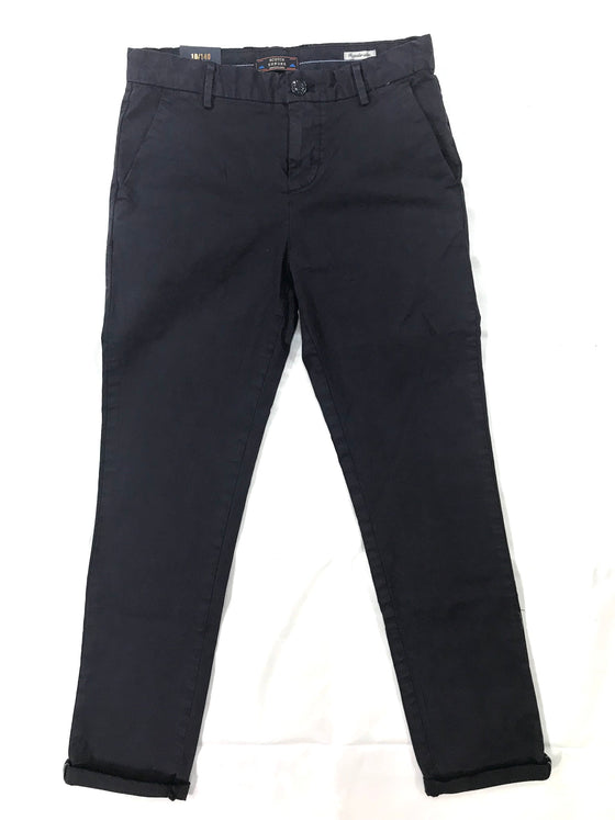 Scotch Shrunk Boys Navy Chino