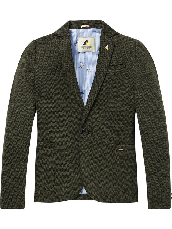 Scotch Shrunk Boys Herringbone Blazer