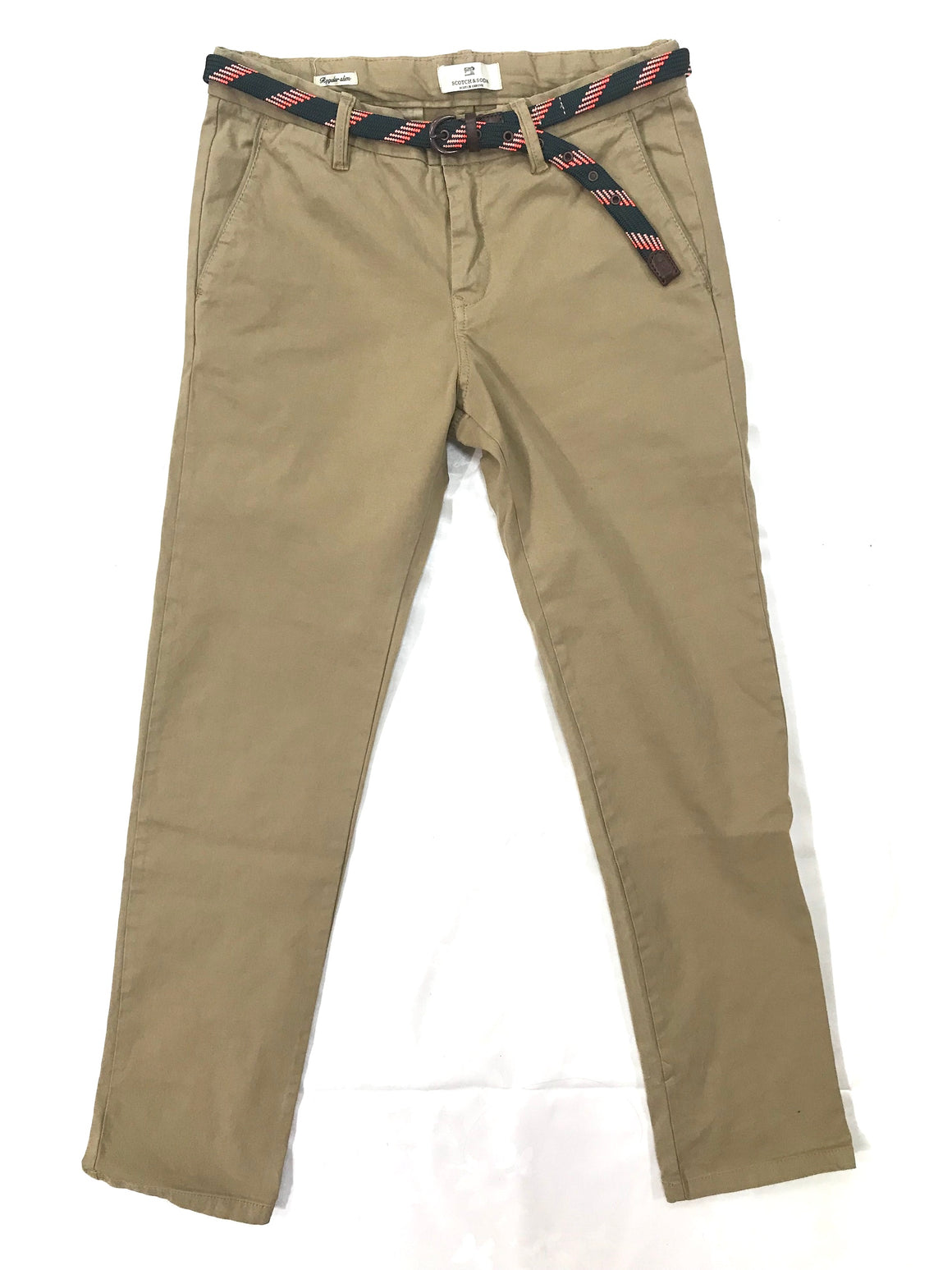 Scotch Shrunk Boys Camel Chinos