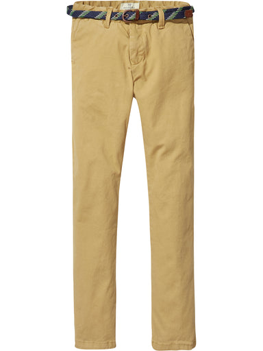 Scotch Shrunk Boys Mustard Chinos