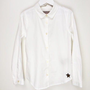 Scotch Shrunk Girls Off White Shirt