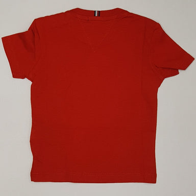 Tommy Hilfiger Boys Deep Crimson T-shirt