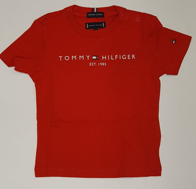 Tommy Hilfiger Boys Red T-shirt