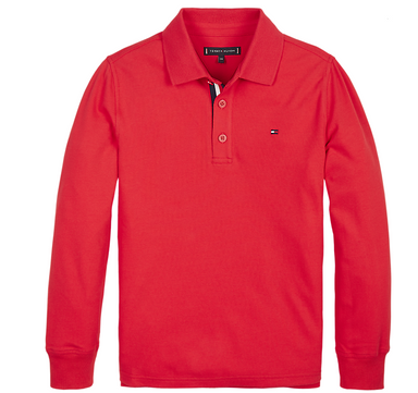 Tommy Hilfiger Boys Red Jumper